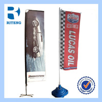 OEM custom made outdoor promotion hot sale best selling in europe and usa bunting banner beach flag