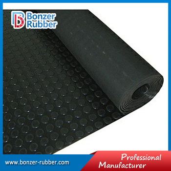 Nanjing Bonzer black color commercial grade garage floor mat