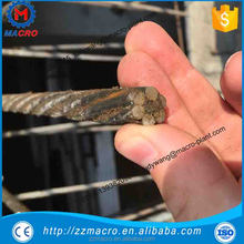 Steel wire strand relaxation 7 wires 15.24mm pc steel strand