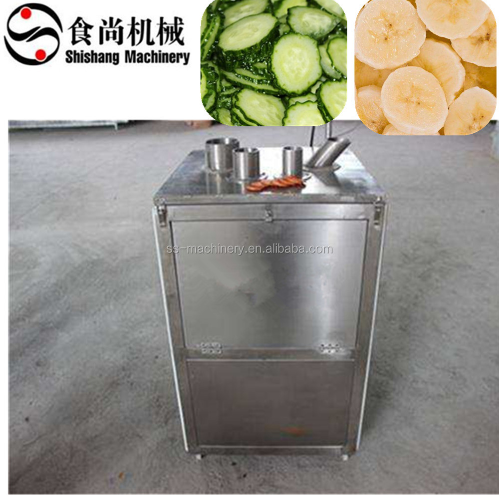 Factory sale banana slicing machine/banana slicer/banana chips cutting machine
