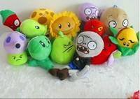 Plants vs zombies plush toy custom cartoon stuffed toys