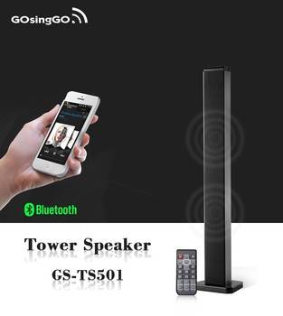 Superior sound quality wireless bluetooth tower speaker in home theater