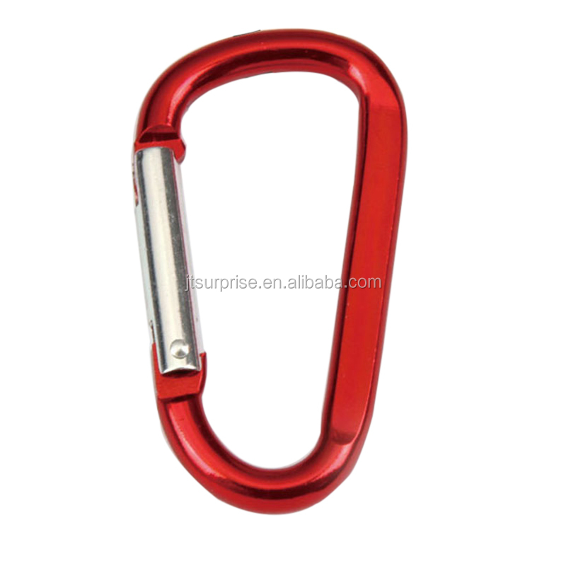 Customized Logo Laser Engraved Size 8# around 76mm Length Various Color Cheap Pet Carabiner Large Carabiner <strong>Hook</strong> wholesale