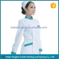 Custom Medical and Hospital Staff Doctor Nurse White Uniform