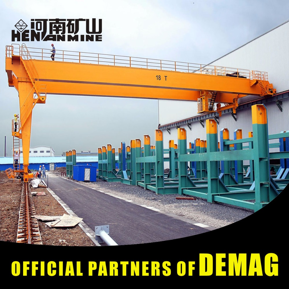 Engineering 5 ton 20 ton 50 Ton Semi Gantry Crane Design Drawing Semi Gantry Crane For Sale