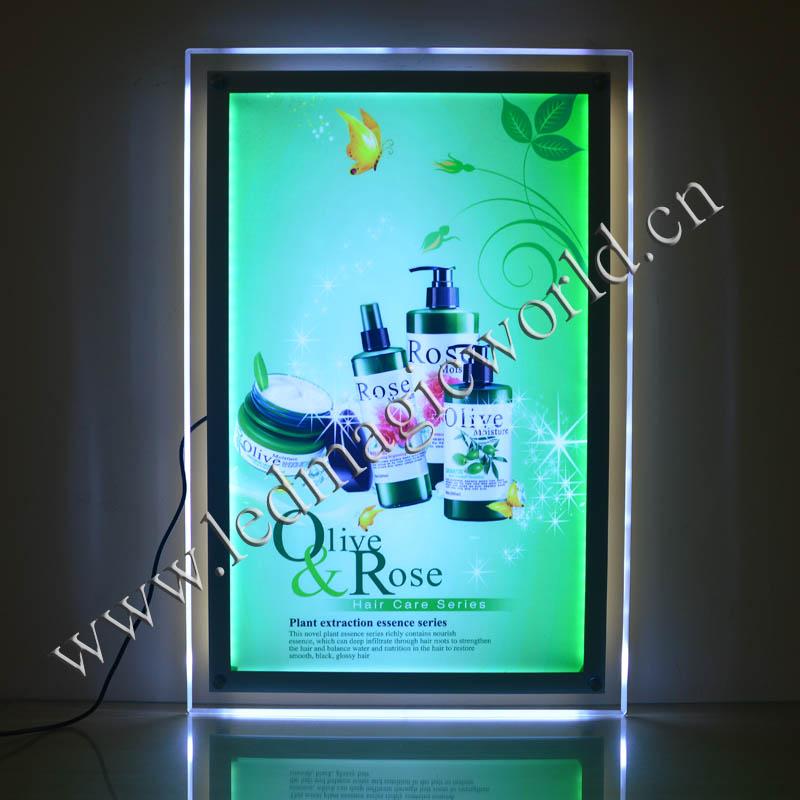2015 Caja de luz ilumina Publicidad / Frame Poster LED / LED luz ...