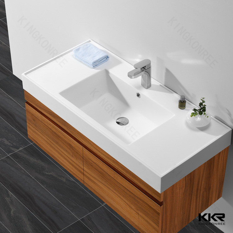 Badkamer Wastafel Set ~ Acryl solid surface vrijstaande badkamer wastafels badkamer wastafels