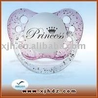 Novelty Design Baby Pacifier Princess