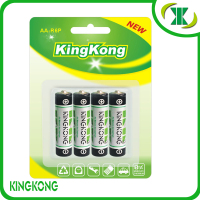 Heavy Duty um-3 ZInc Carbon Battery 1.5V dry cell R6 AA size carbonic battery Outperforms