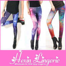 Wholesale Cheap Lycra Tight Cosmic Galaxy Ladies Leggings Sex Photo 2012