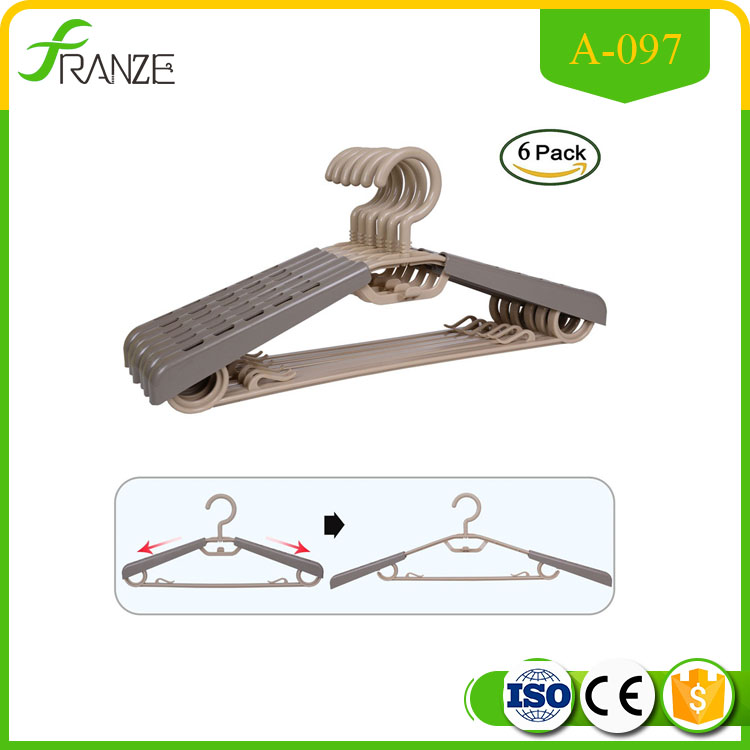 Multifunctional extendable clothes hanger for wholesales