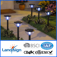 Cixi Landsign Stainless Steel High Grade led solar lamp,solar street light led