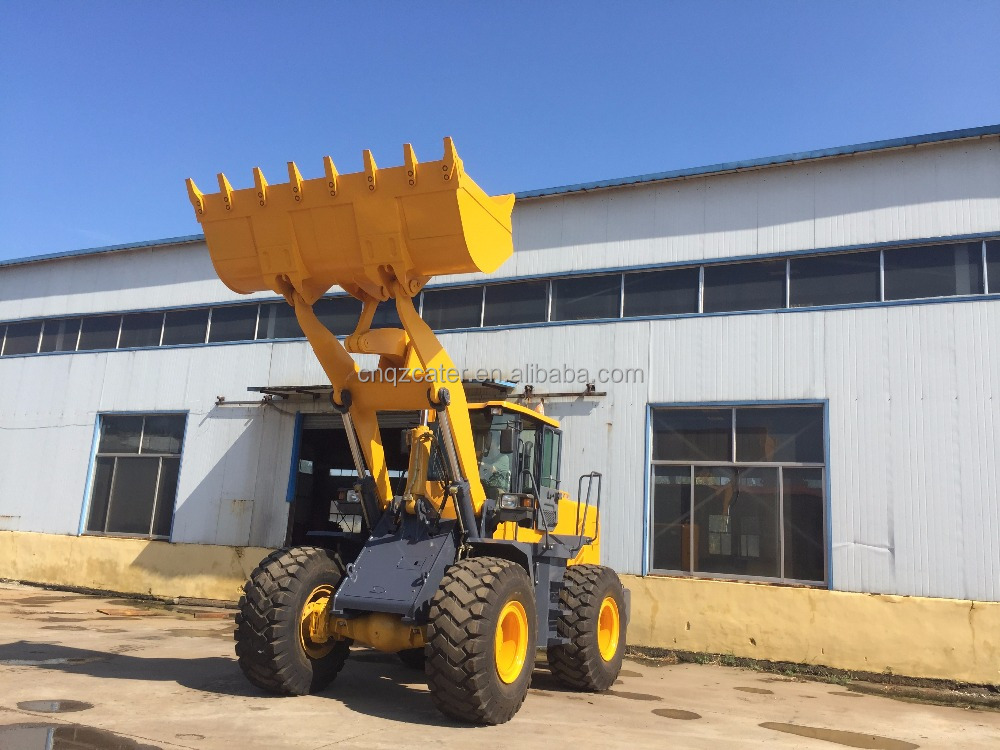 Chinese 5 ton hot sale wheel loader radlader