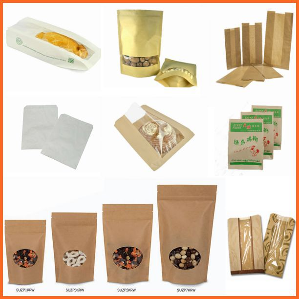 China Wholesale Biodegradable Brown Paper Bag Kraft Paper