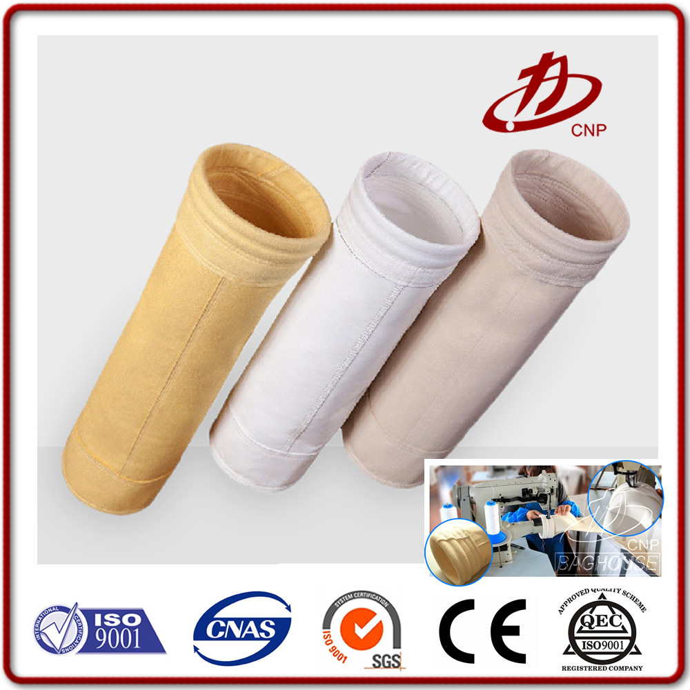 High temperature resistant material industrial filter bags