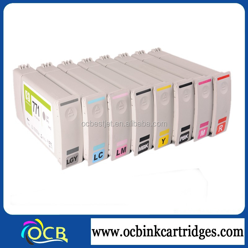 771 Recycling Ink Cartridge For HP Designjet z6200 z6600 z6800 Printer Remanufactured Cartridges