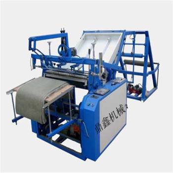 Plastic bag cutting machine polythene bag cutting machine