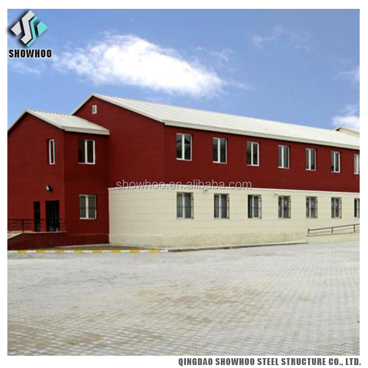 Prefabricated Steel Structure Two Storey Factory Office Building