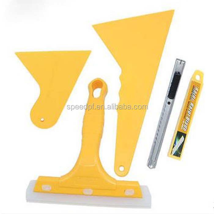 High flexible rubber squeegee car glass window tinting tools