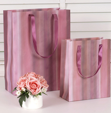 birthday gift packaging rainbow striped gift paper bags