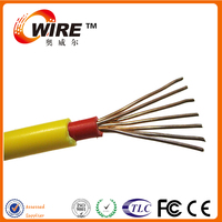 LSZH material,flame retardance PVC insulated solid or stranded conductor power cable