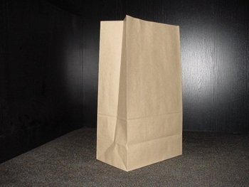 Sos Kraft Brown Paper Bag