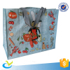 Low price pp woven fabric valve tote bag