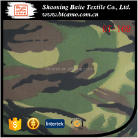 T/C Twill Army Woodland Camouflage Fabric
