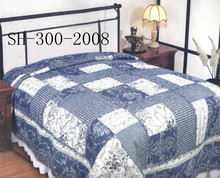 High Level Turkish Jacquard Lacework Patchwork Bed Quilt Cover