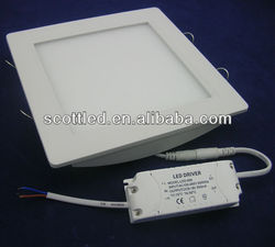 18w square led light panel in zhongtian