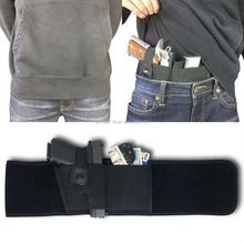 2017 custom logo soft concealed carry belly band gun holster