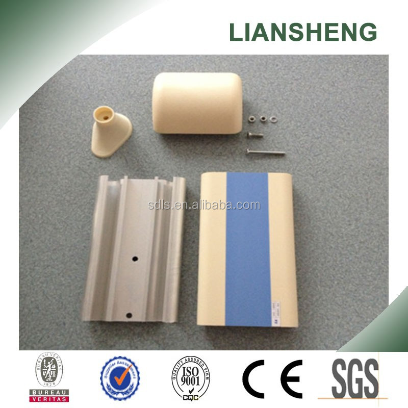 Hospital handrail PVC railing base plate