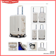 PP Suitcase Travel 3Pcs Trolley Luggage Set