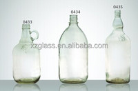 2 liter glass bottle