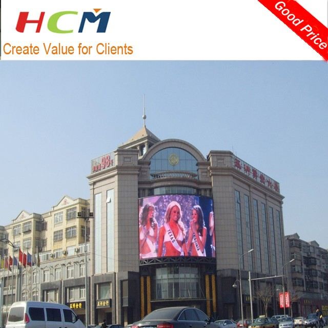 Best selling full color led screen p16 outdoor hd xxx video
