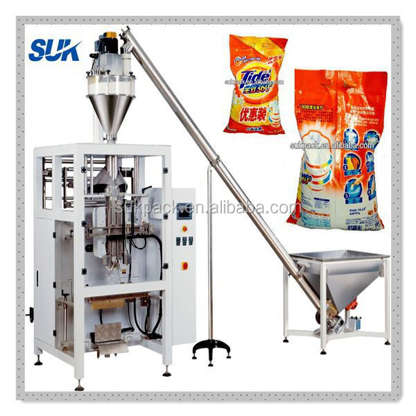 Automatic detergent powder packing machine