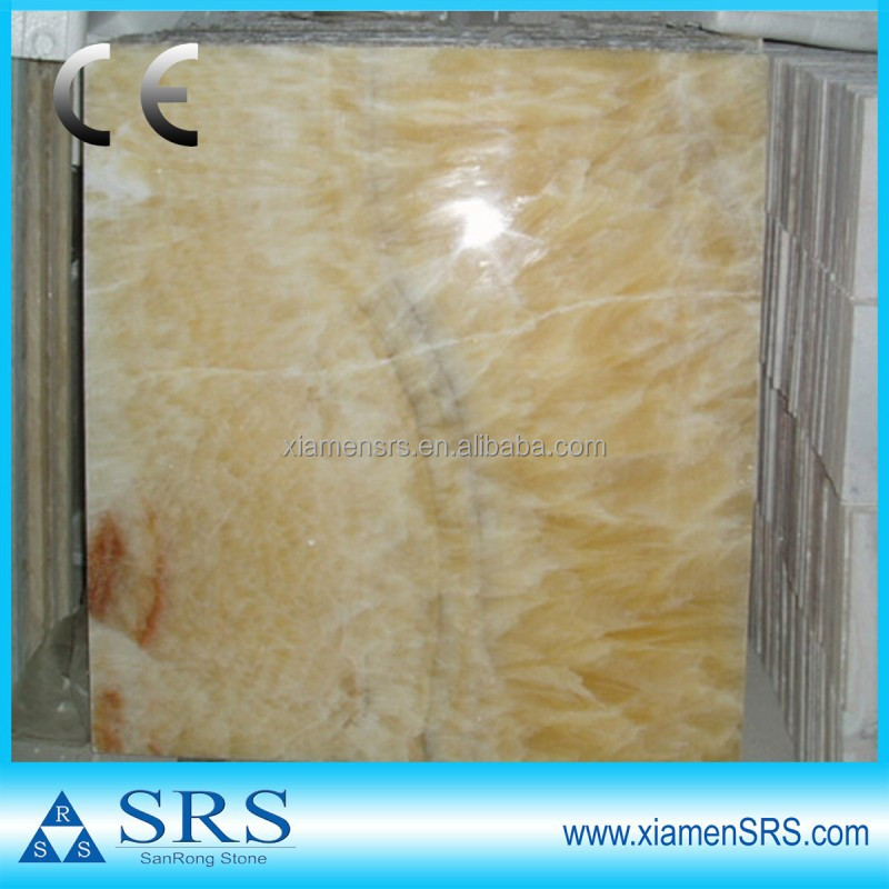 Yellow Honey onyx natural chinese marble stone tile