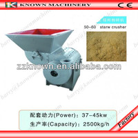 hot saling high reliable stationary power and diesel engine crusher