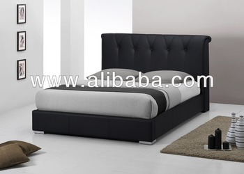 Bedroom Furniture / Faux Leather PU Bed ( Meriva Bed)