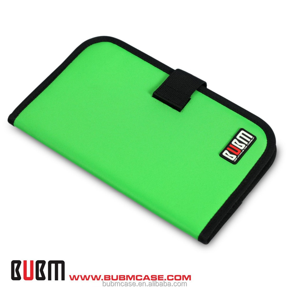 New Green BUBM Slim 32 Capacity CD Case CD Box DVD Case CD Storage Car Disc Case