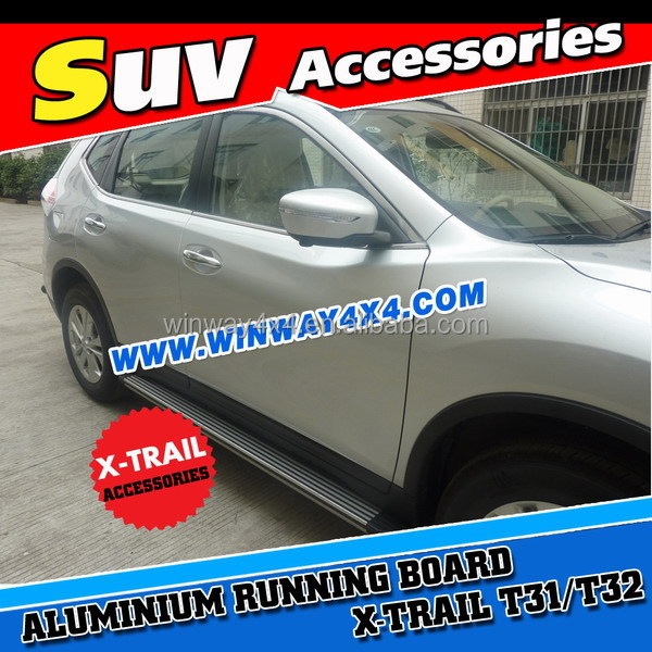 Aluminium Side Step Running Board For 2015 X-Trail T32