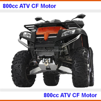 800cc ATV 4x4 shaft drive fully automatic CF Moto EEC COC available for Europe market