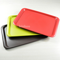 hotel multicolor polypropylene plastic serving tray