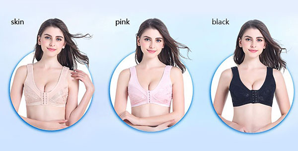 Hot Sale Bra Sexy Mastectomy Bras With Pockets for Breast Cancer Silicone Breast Form Bra Wholesale