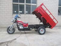 South America Strong Power Semi-Closed Water-cooled Engine 150cc Cargo Adult Tricycle With Passenger Seat
