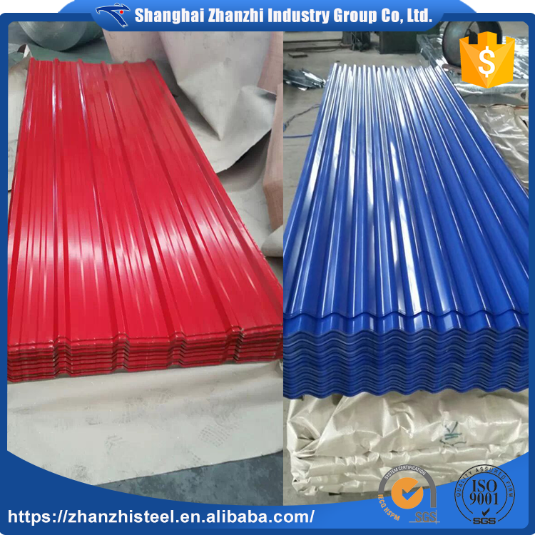 2017 High Quality Hot Sale Colorful Galvanised Steel Roofing Sheets