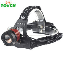 car repair led headlights fashion design rotate zoom led headlamp 2000 lumen 6 hours working light led head lamp
