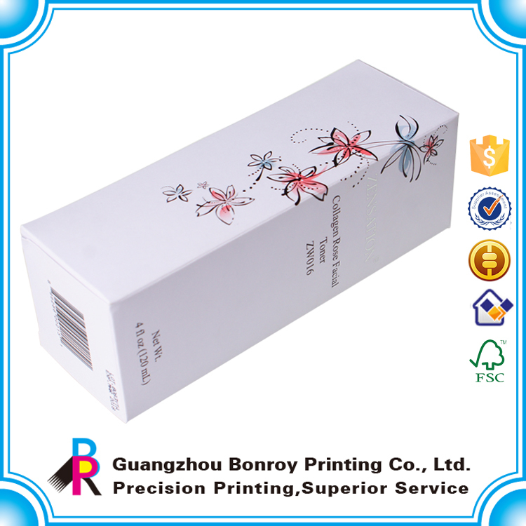 Guangzhou supplier all kinds of beautiful cosmetic gift set packaging box