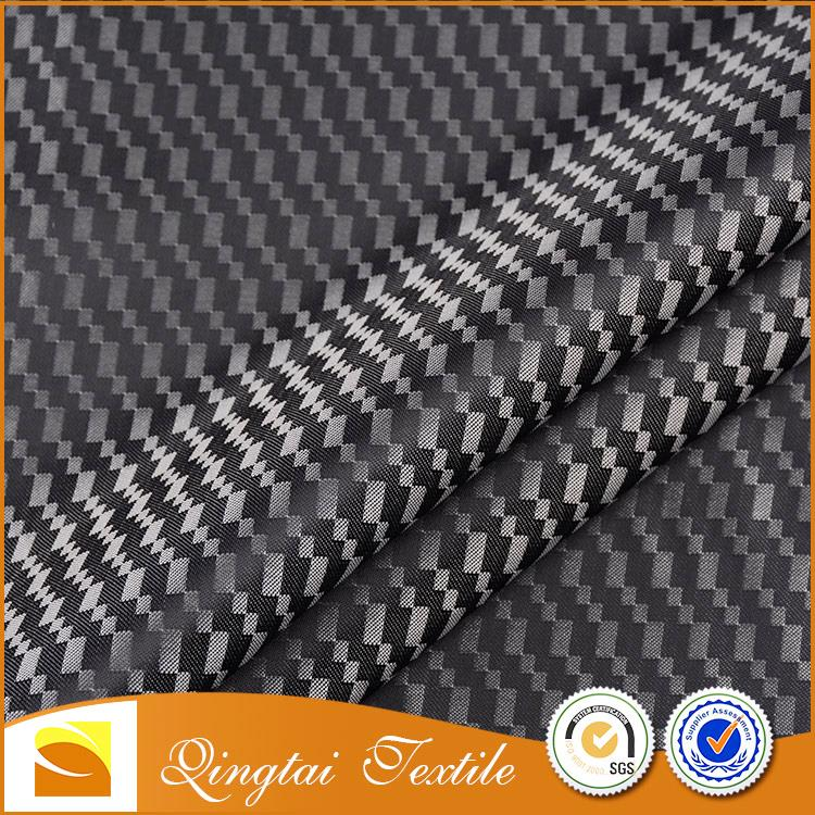 China Factory Digital printed Cheap sheer polyester dobby fabric for Lining
