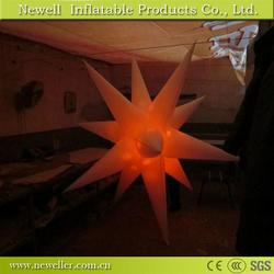 Professional inflatable star and jellyfish in good quality